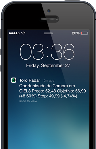 ToroRadar on iOS