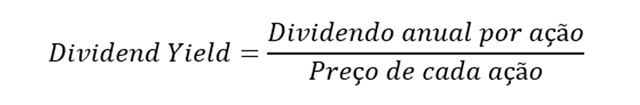 Calculo Dividend yield