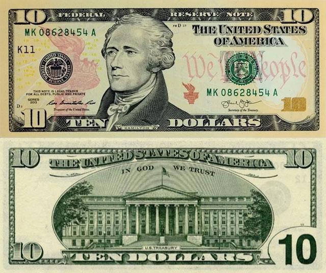 Dez Dólares