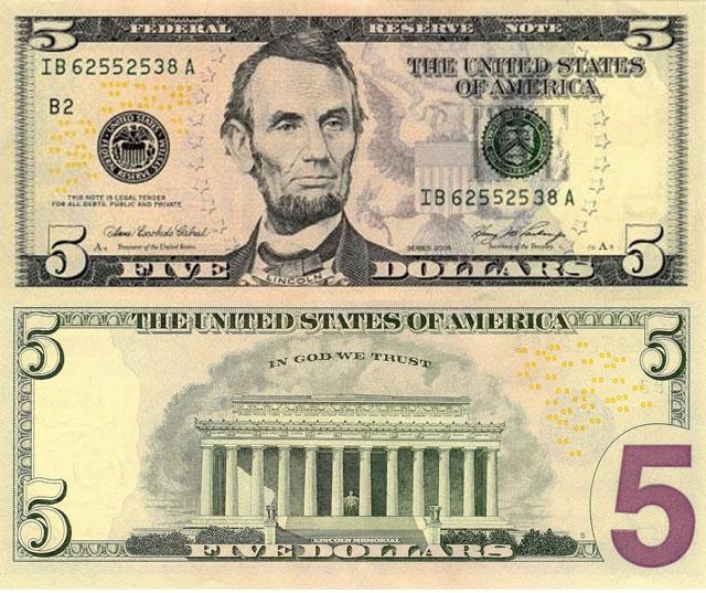 Cinco Dólares