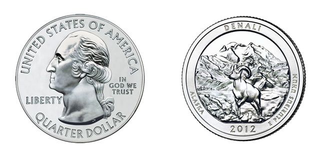 Dez centavos de dólar ou dime