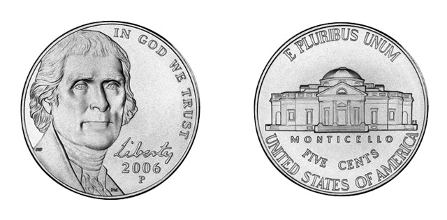 Cinco centavos de dólar