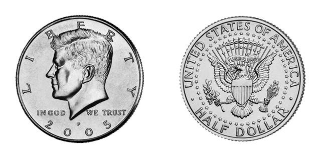 Vinte e cinco centavos de dólar ou Quarter